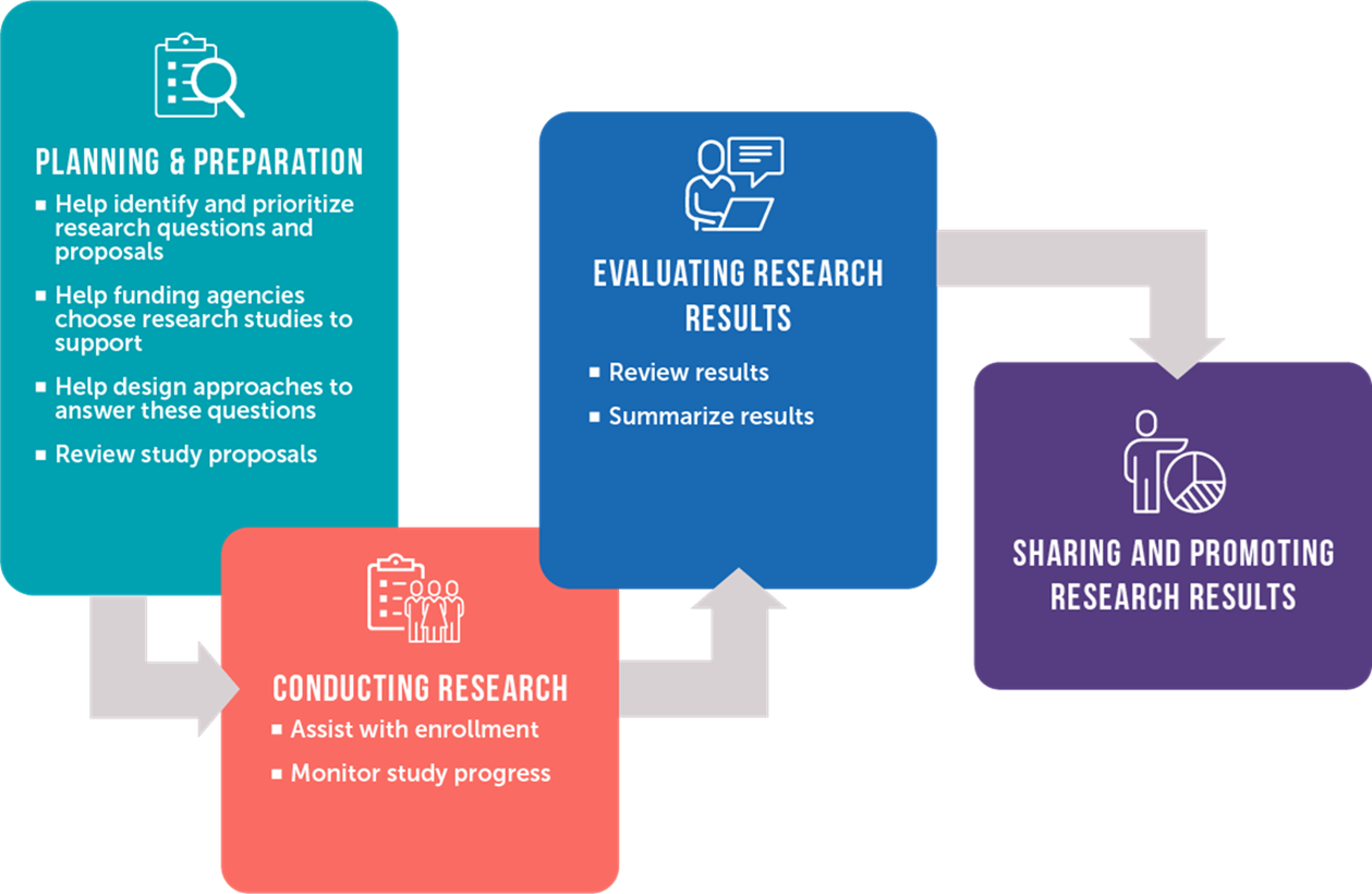 Image showing the phases of research
